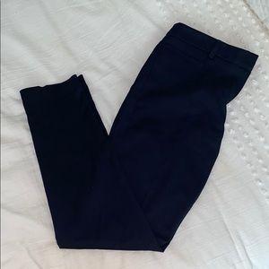 Next tailored navy pants long leg NWOT